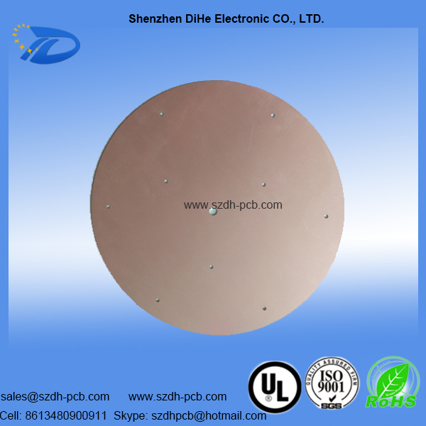 003-round led pcb board fabrication and assembly-2
