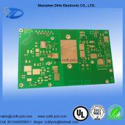 009-Green solder mask aluminum base printed circuit board