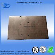 009-Green solder mask aluminum base printed circuit board-2
