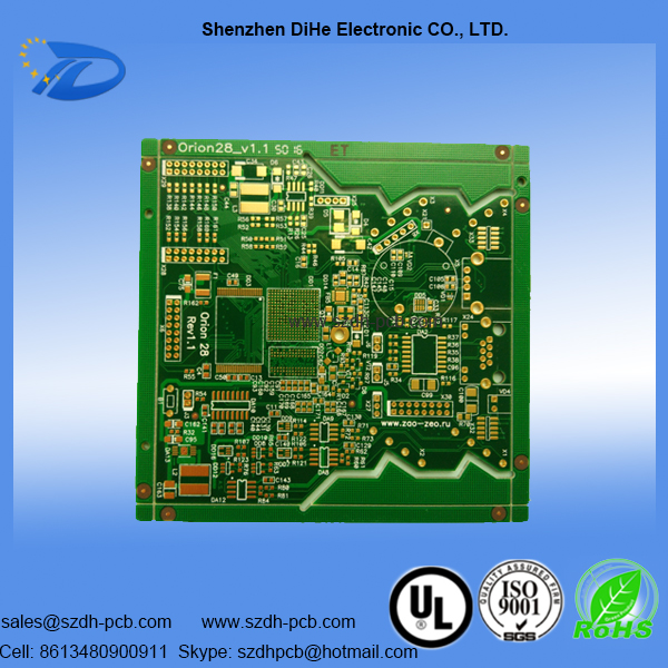 6 Layers Circuit Board | Shenzhen Dihe Electronic Co , Ltd