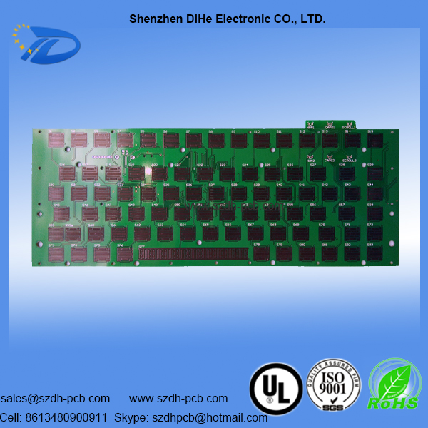 018-green-oil–PCB multilayer carbon ink pcb board