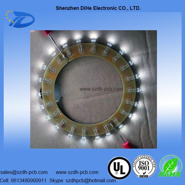 023-Round Shape SMT LED PCB Assembly
