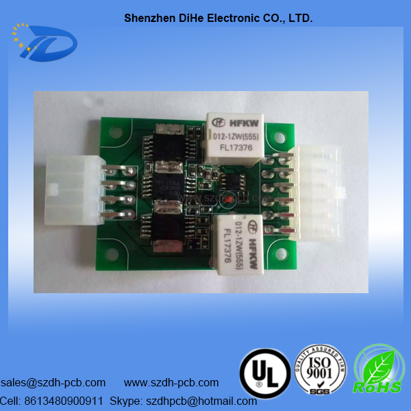 024-Electronic Assembly with components for Car